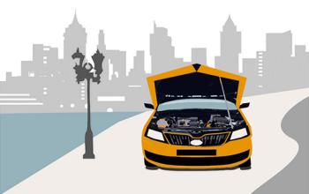 Khoang động cơ của ô tô